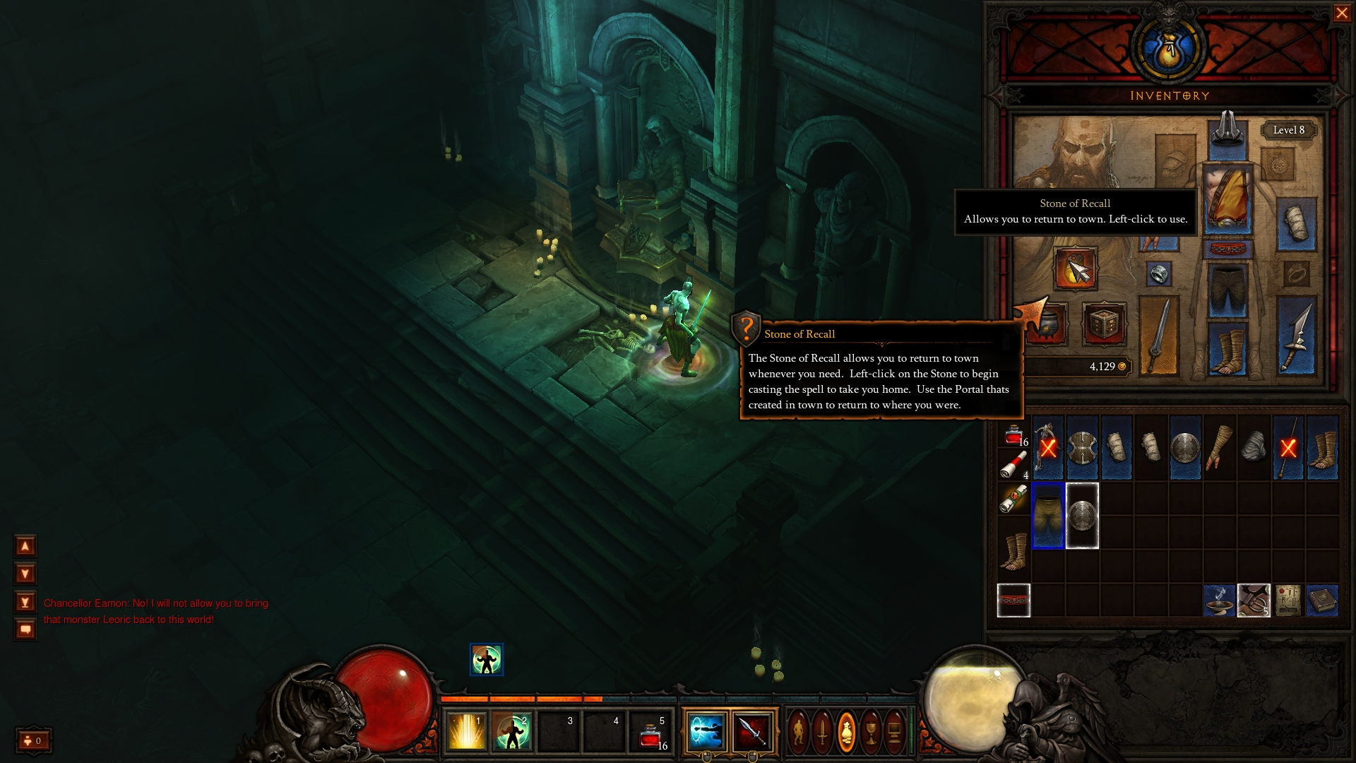 Diablo 3 Stone of Recall