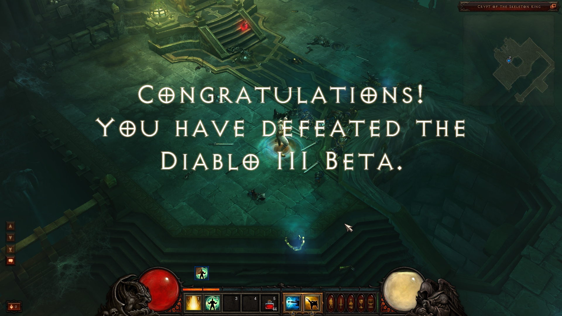 Diablo 3 End of Beta
