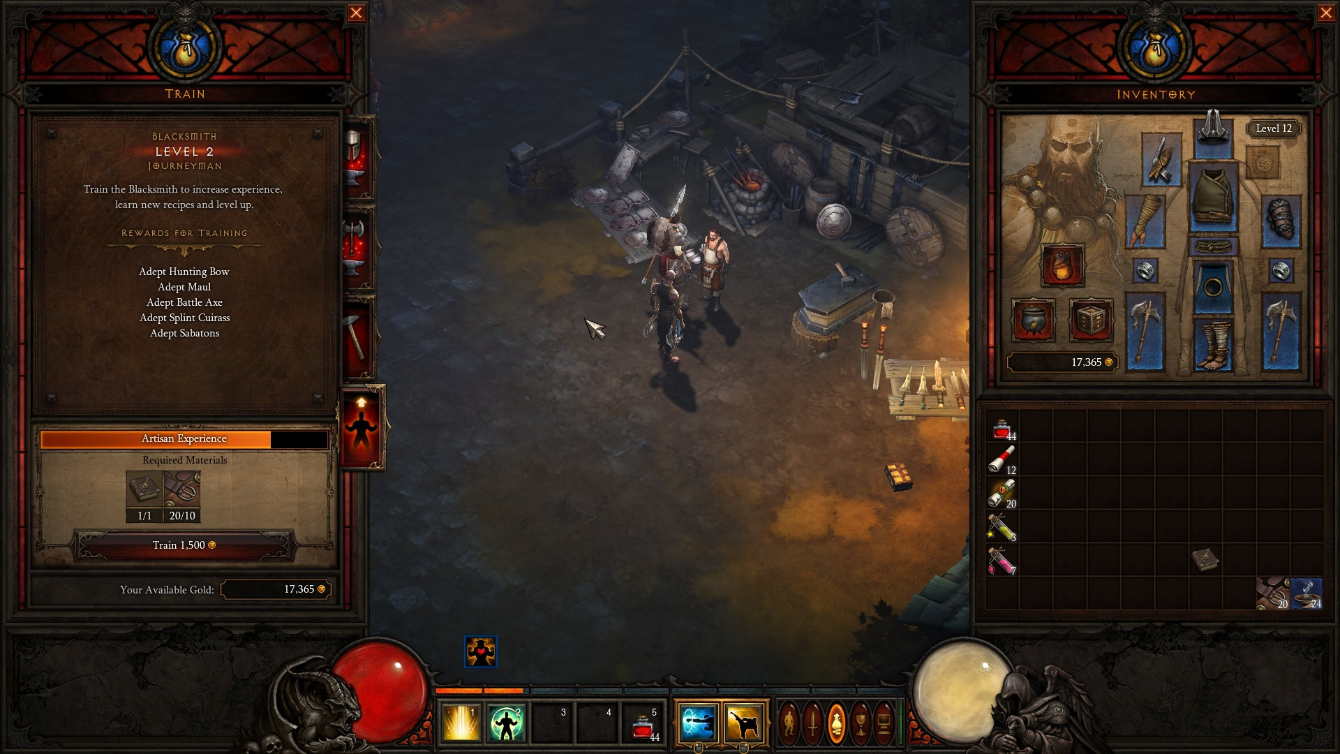 Diablo 3 Crafting 1